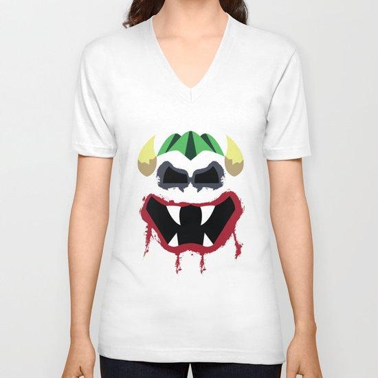 Joke's On You Bowser V-neck T-shirt