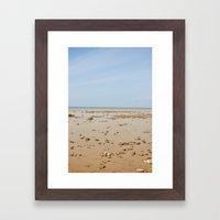 Sun And Sand Color Natur… Framed Art Print