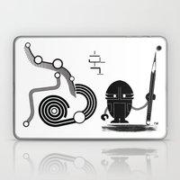 Robot Graffiti  Laptop & iPad Skin