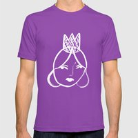 Queen Mens Fitted Tee Ultraviolet SMALL