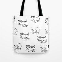 Woofwoof Dog Meeting Tote Bag