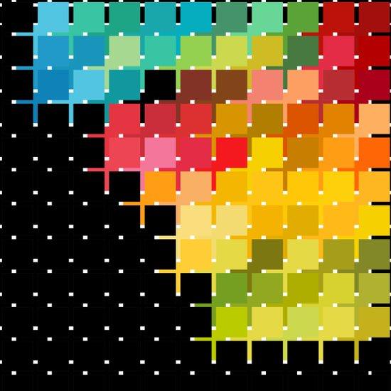 Color Chips Art Print