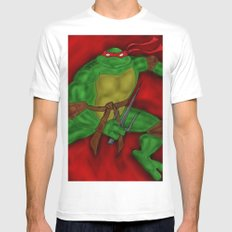 Raphael SMALL Mens Fitted Tee White