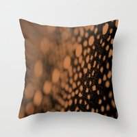 Star Paths Throw Pillow