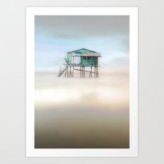 In Perfect Isolation Art Print