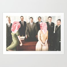 Mad Men Art Print