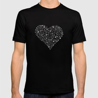 Black love Mens Fitted Tee Black SMALL