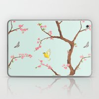 Jenny Chinoiserie on mint Laptop & iPad Skin