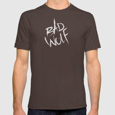bad wolf Mens Fitted Tee Brown SMALL