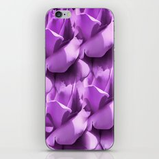 Lavender Petals Abstract iPhone & iPod Skin