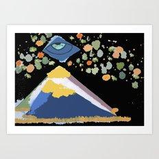 1000110110101 Art Print