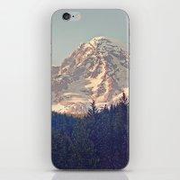 Mount Rainier Retro iPhone & iPod Skin