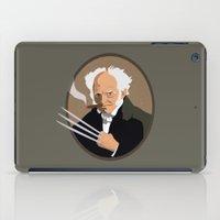 Hegel is a pussy iPad Case