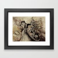 freudian dream Framed Art Print