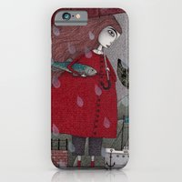 iPhone & iPod Case featuring At the Harbor by Judith Clay