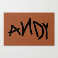 Andy Canvas Print