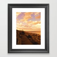 Way To The Infinity Framed Art Print