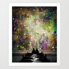 The Universe Was Ours Art Print