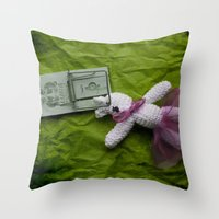 Did not mean to hurt you.... Throw Pillow