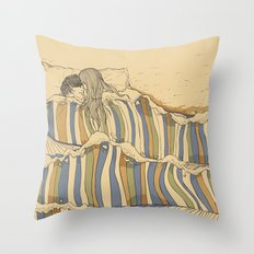 Ocean Of Love Throw Pillow