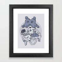 Videofoto Framed Art Print