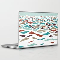 beach Laptop & iPad Skins featuring Sea Recollection by Efi Tolia
