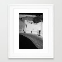 way to.... Framed Art Print