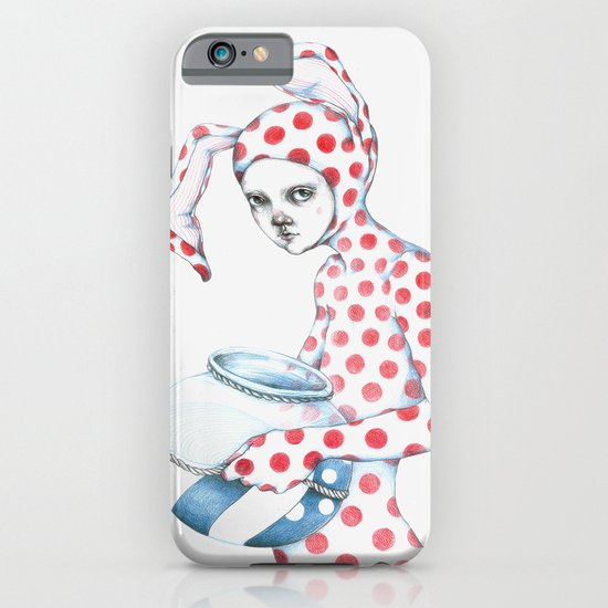 Red Dotted Bunny iPhone & iPod Case