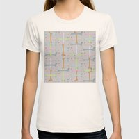 Going Dachs Womens Fitted Tee Natural SMALL
