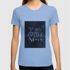 Rattle the S T A R S Womens Fitted Tee Athletic Blue SMALL