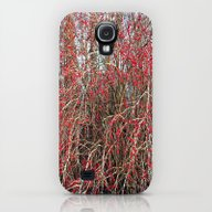 Red Berries Galaxy S4 Slim Case