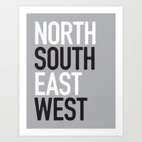 North East / South West Art Print