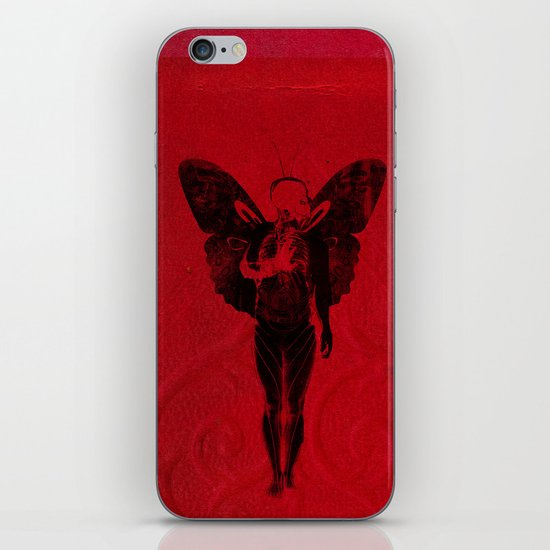 butterfly man v 2 iPhone & iPod Skin
