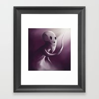 Follow The Light Framed Art Print