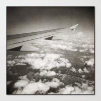 { flying high } Canvas Print