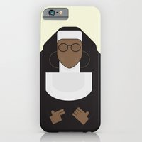 iPhone & iPod Case featuring  Sister Act - Movie Poster Minimalist by Stefanoreves