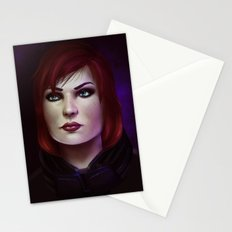Mass Effect: Commander Shepard Stationery Cards