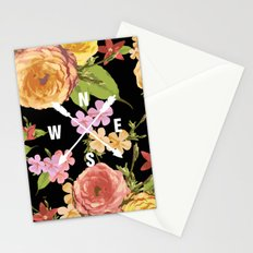 Floral Directions Stationery Cards