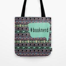 Book Nerd Tribal Print Tote Bag