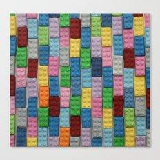Bricks Zoom Canvas Print