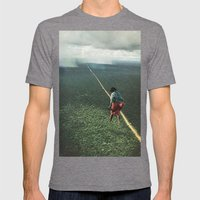 Sunlight Mens Fitted Tee Tri-Grey SMALL