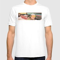 The American Dream Mens Fitted Tee White SMALL