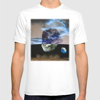 Multiverse Mens Fitted Tee White SMALL