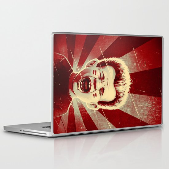 Red Noise Laptop & iPad Skin