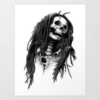 the Legend of Reggae Art Print