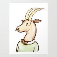 Sir Antelope Art Print