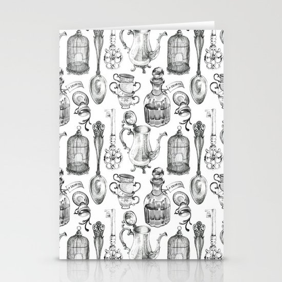 Alice Encounters Stationery Card