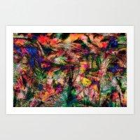 Laptop 4 Abstract Art Art Print