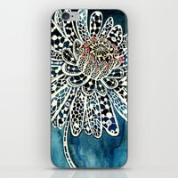 Flower Paintings: Lace F… iPhone & iPod Skin