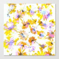 Flowering #3 Canvas Print